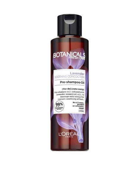 Billede af L'Oréal Paris Botanicals Lavender Pre Shampoo Oil 150ml Hårkur og Hårolie Transparent