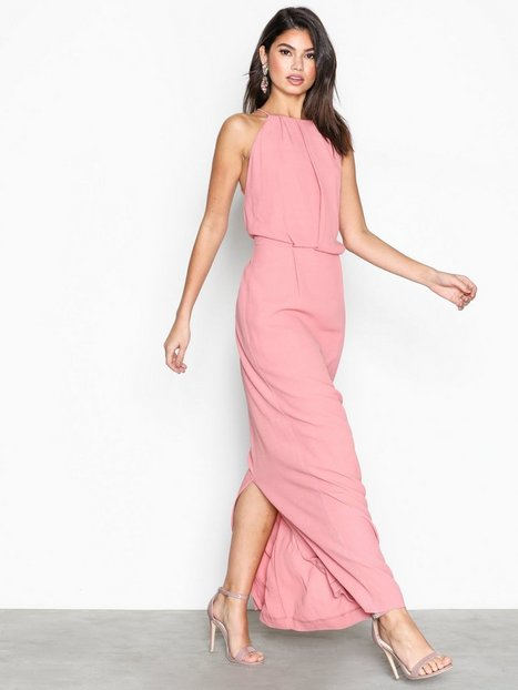 Willow Dress Long 5687 - Samsøe Samsøe - Dusty Rose - Partykleider ...