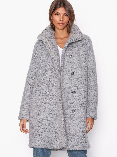 Samsøe Samsøe Hoff jacket 6182 Frakker Grey Melange