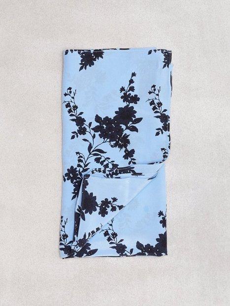 Billede af Samsøe Samsøe Hail scarf aop 9394 Halstørklæde & Tørklæde Blue