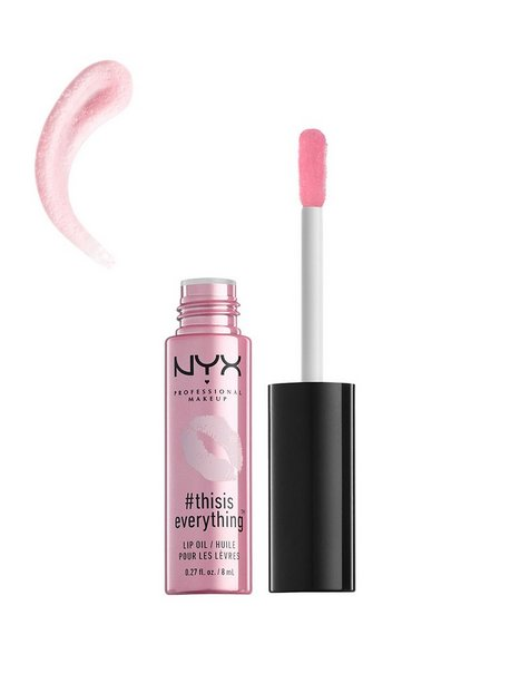 NYX Professional Makeup #thisiseverything Lip Oil Läppglans Cherry Pink thumbnail