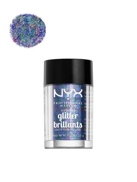 Billede af NYX Professional Makeup Face & Body Glitter Skær/Glitter Violet