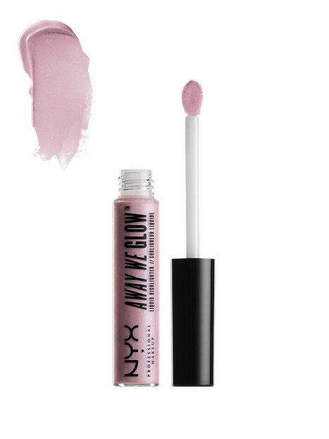 Billede af NYX Professional Makeup Away We Glow Liquid Highlighter Contouring & Strobing Lavender Pearlscent