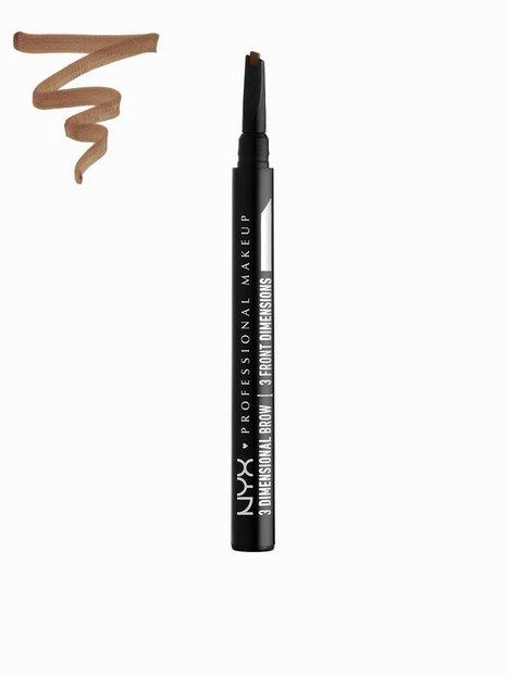 Billede af NYX Professional Makeup 3 Dimensional Brow Øjenbryn Soft Brown