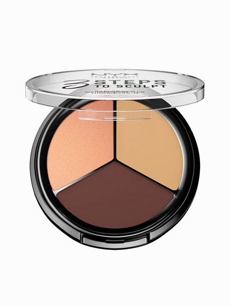 Billede af NYX Professional Makeup 3 Steps To Sculpt Contouring & Strobing Medium