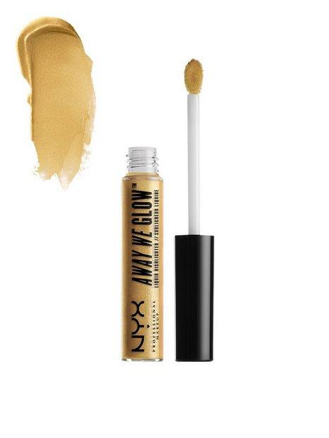 Billede af NYX Professional Makeup Away We Glow Liquid Highlighter Highlighter Golden Hour