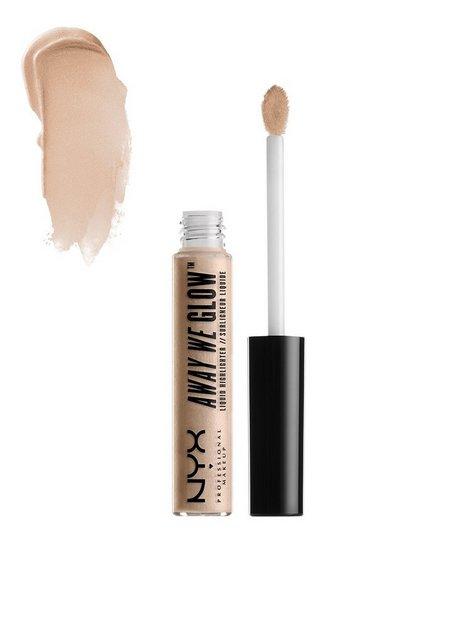 Billede af NYX Professional Makeup Away We Glow Liquid Highlighter Highlighter Crystal Glare