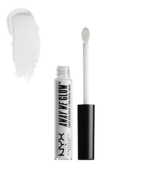 Billede af NYX Professional Makeup Away We Glow Liquid Highlighter Highlighter Moon Glow