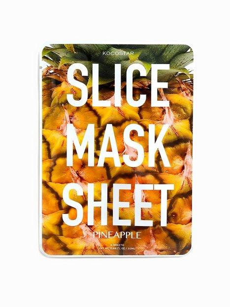Billede af Kocostar Korean Slice Mask Sheet Ansigtsbehandling Pineapple