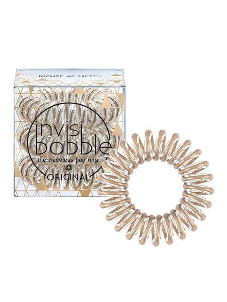 Billede af Invisibobble Time To Shine Collection Hårbånd & hårnåle Bronze