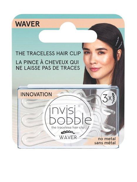 Billede af Invisibobble invisibobble WAVER Crystal Clear hanging pack Hårbånd & hårnåle