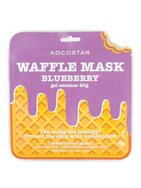 Billede af Kocostar Waffle Mask Ansigtsmasker Blueberry
