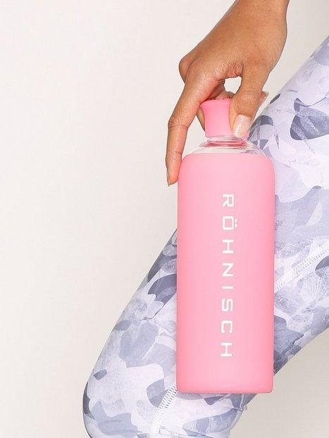 Billede af Röhnisch Glass Water Bottle Vandflaske Mørk Rosa