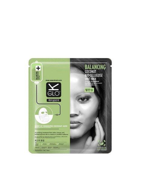 Billede af K-Glo Balancing Coconut Bio-Cellulose Sheet Mask Ansigtsmaske Transparent