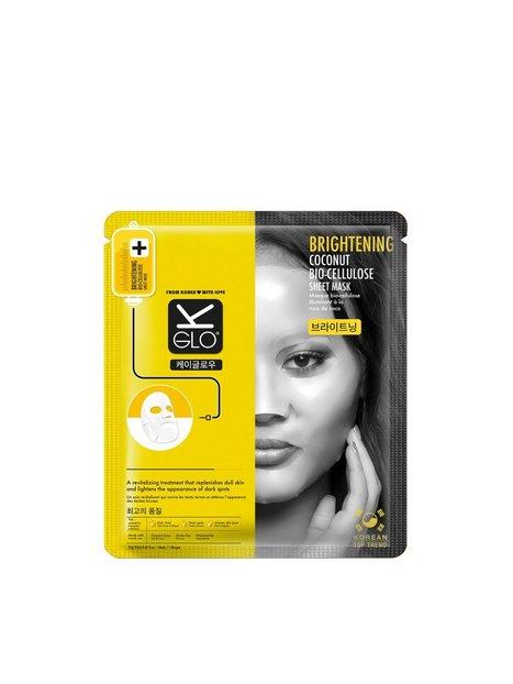Billede af K-Glo Brightening Coconut Bio-Cellulose Sheet Mask Ansigtsmaske Transparent