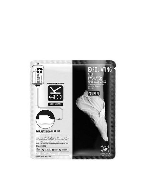 Billede af K-Glo Exfoliating Foot Sock Masks Hænder & Fødder Transparent