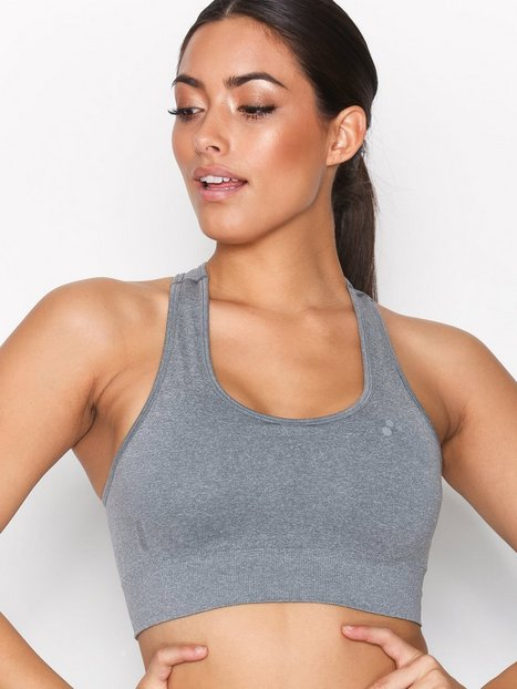 Billede af Only Play onpDAISY Seamless Sports Bra - Opus Sports-BH Grå