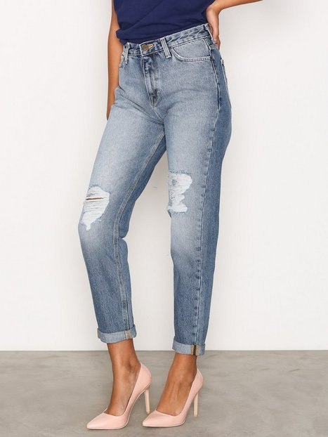Billede af Lee Jeans Mom Straight Loose fit Stone
