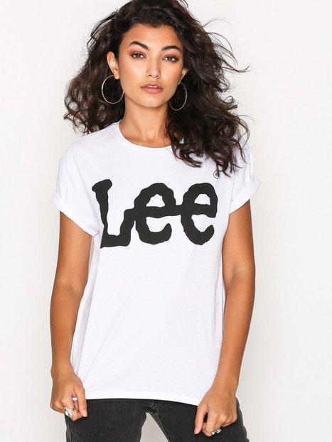 Billede af Lee Jeans Logo Tee T-shirt White