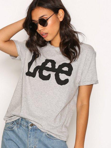 Billede af Lee Jeans Logo Tee T-shirt Grey