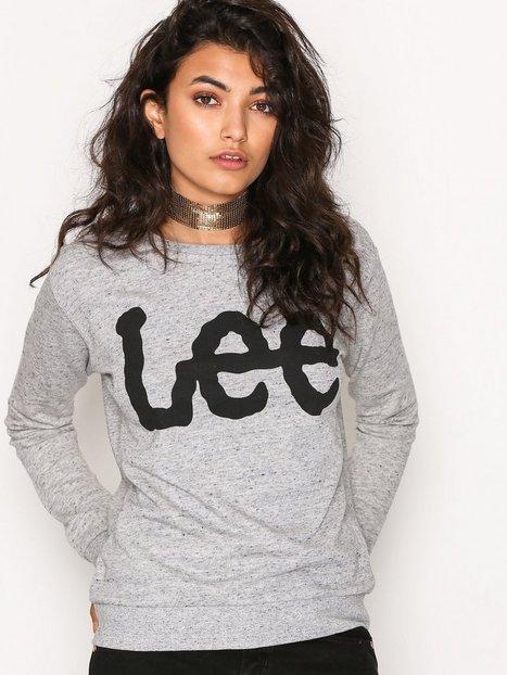 Billede af Lee Jeans Logo Sweatshirt Sweatshirt Grey Melange
