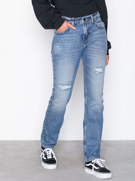 Billede af Lee Jeans 90s Rider Blue Damage Straight fit