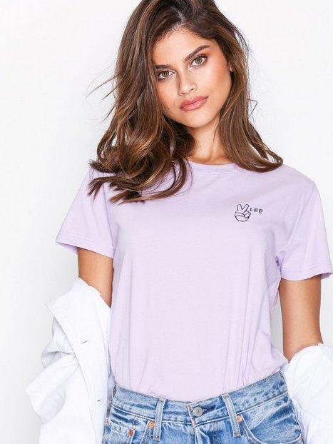Billede af Lee Jeans Lee Tee Pale Purple T-shirt Purple