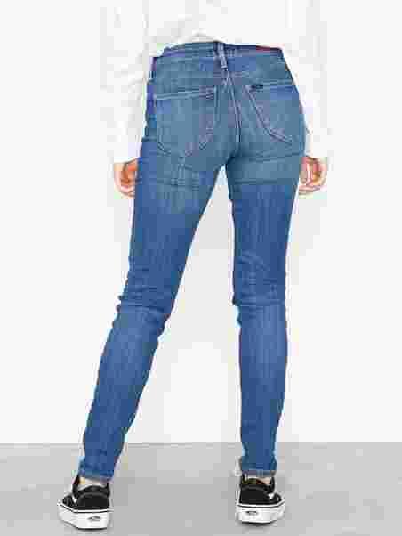 fbfcb47a9ca Scarlett High Blue - Lee Jeans - Denim - Jeans - Clothing - Women ...