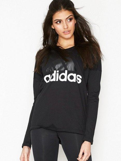 Billede af Adidas Sport Performance Ess Li Losleeve Top Langærmet Sort