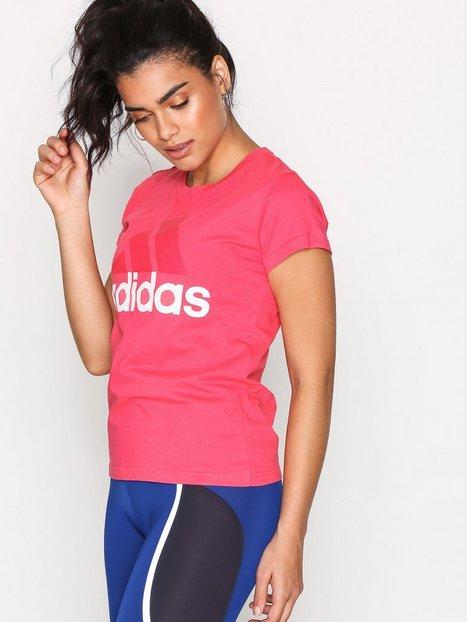 Billede af Adidas Sport Performance Ess Li Sli Tee Top Kortærmet Rosa/Lyserød