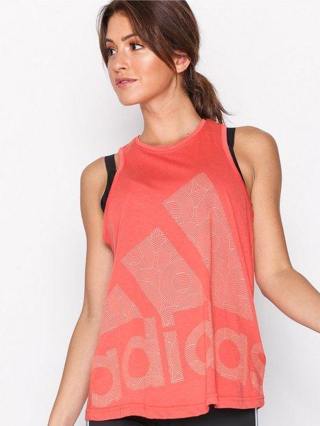 Billede af Adidas Sport Performance Logo Cool Tank Loose-fit Top Koral