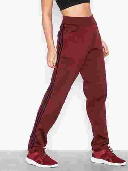 a7453eab8 W Id Kn Stk Pt - Adidas Sport Performance - Maroon - Tights & Pants ...