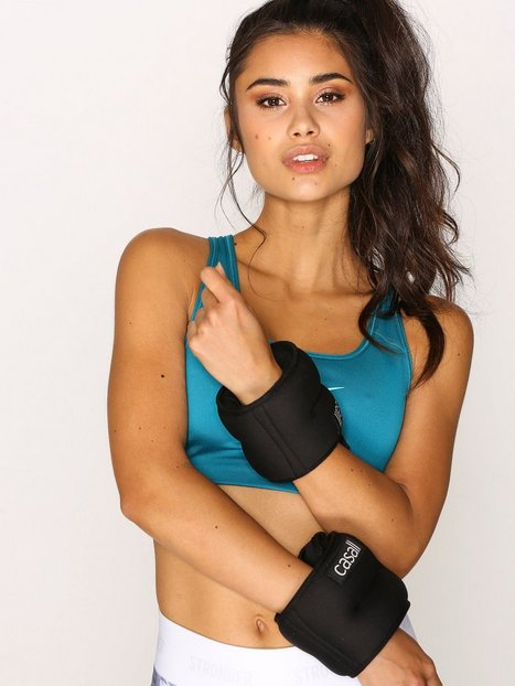 Billede af Casall Wrist Weights 2 x 2 Kg Træningsredskab Sort