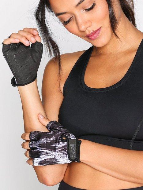 Billede af Casall Exercise Glove Style Træningshandsker Hvid/Sort