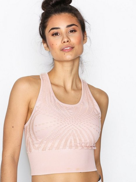 Billede af Casall Open structure sports top Top Tight Fit Blush