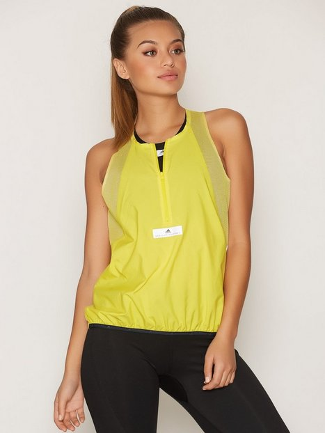 Billede af Adidas by Stella McCartney Run ADZ Tank Loose-fit Top Gul