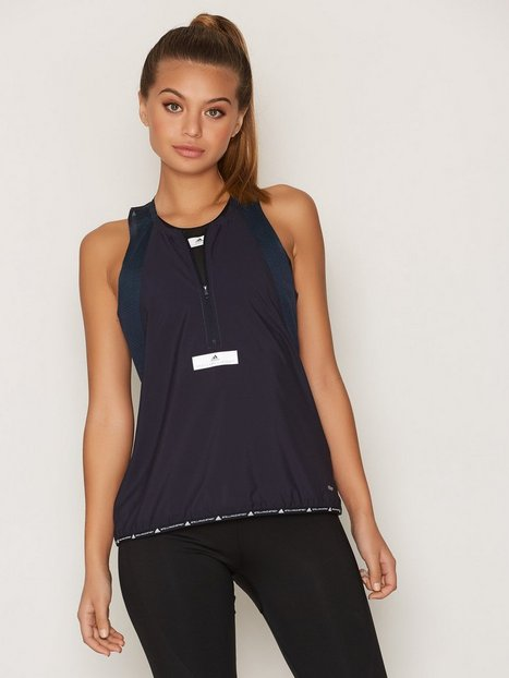 Billede af Adidas by Stella McCartney Run ADZ Tank Loose-fit Top Blå
