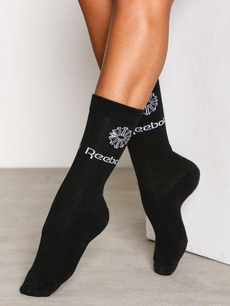 Billede af Reebok Classics CL Iconic Taping Socks Strømper Sort