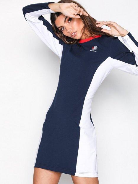 Billede af Reebok Classics AC Dress Langærmede kjoler Navy/Hvid