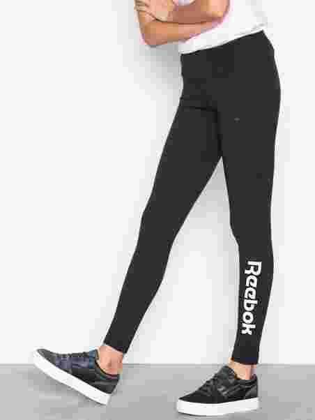 de51ae5c591b0 F Logo Legging - Reebok Classics - Black/White - Pants & Shorts ...