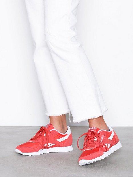 Billede af Reebok Classics CL Nylon Neutrals Low Top Rød