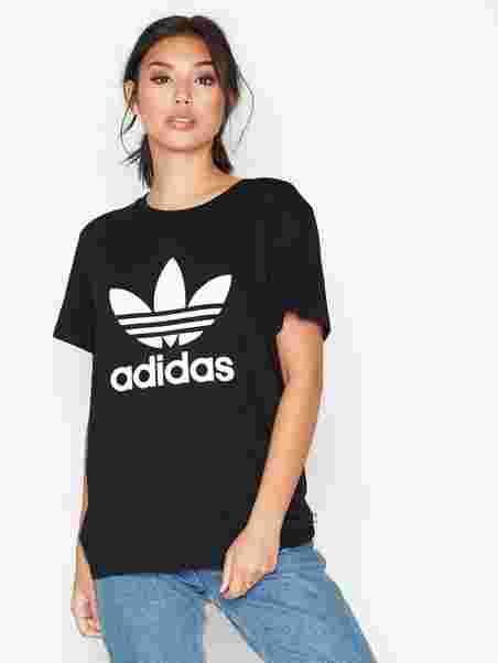131725ff19 Bf Trefoil Tee - Adidas Originals - Black - Tops - Clothing - Women ...