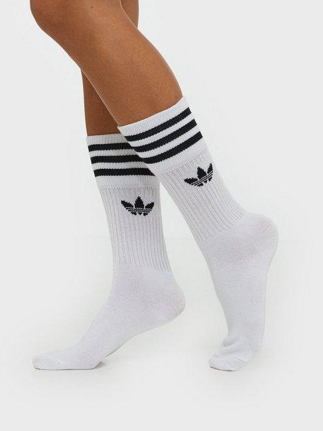 Billede af Adidas Originals Crew sock 3-pack Lange strømper Hvid