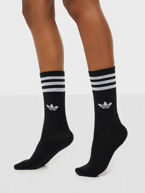 Billede af Adidas Originals Crew sock 3-pack Lange strømper Sort