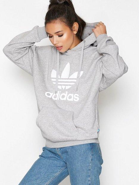 Billede af Adidas Originals Trefoil Hoodie Sweatshirt Grey