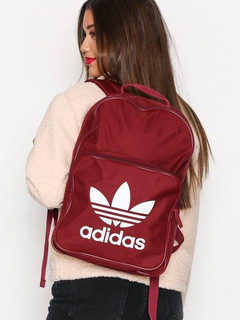 Billede af Adidas Originals BP Clas Trefoil Rygsæk Burgundy