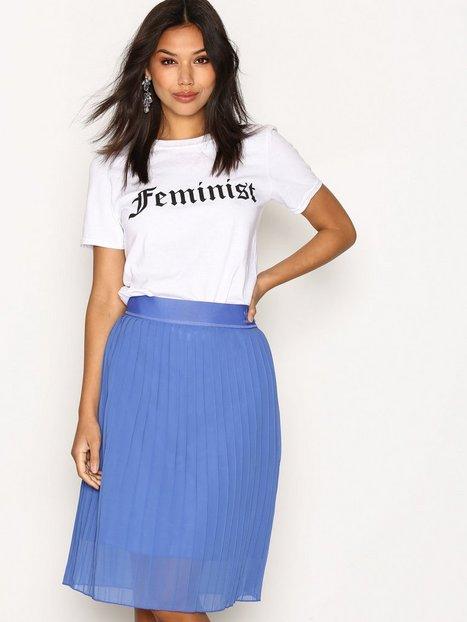Billede af Adidas Originals Pleated Skirt Midi Nederdel Blå