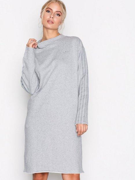 Billede af Adidas Originals Crew TRF Dress Langærmet kjole Grå