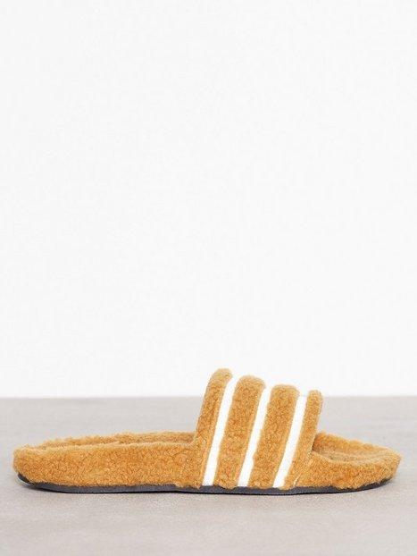 Billede af Adidas Originals Adilette W Sandaler Gul/Brun