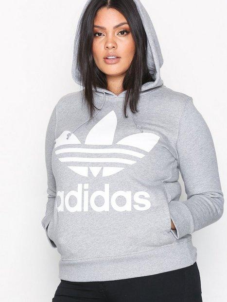 Billede af Adidas Originals Trefoil Hoodie Hættetrøjer Grå